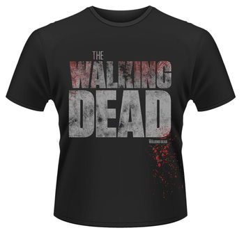 The Walking Dead 'Splatter' T-Shirt (S, M, L, XL, XXl, XXXL)-YENI & RESMI