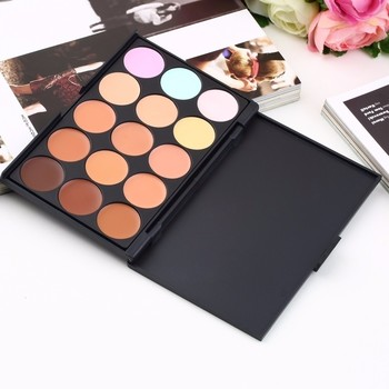 New Professional 15 Color Camouflage Concealer Make Up Cream Palette